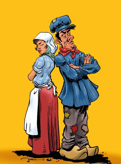 affiche de la Bouffonnerie